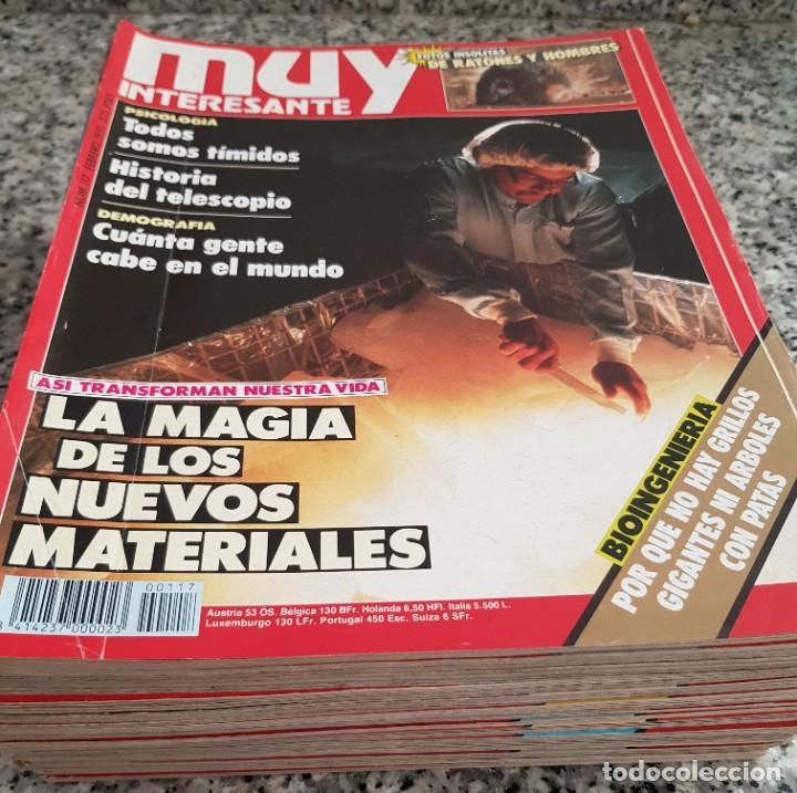 Coleccionismo de Revista Muy Interesante: LOTE 32 REVISTAS MUY INTERESANTE - ENTRE LOS NÚMEROS 1 Y 117 - Foto 3 - 219883832