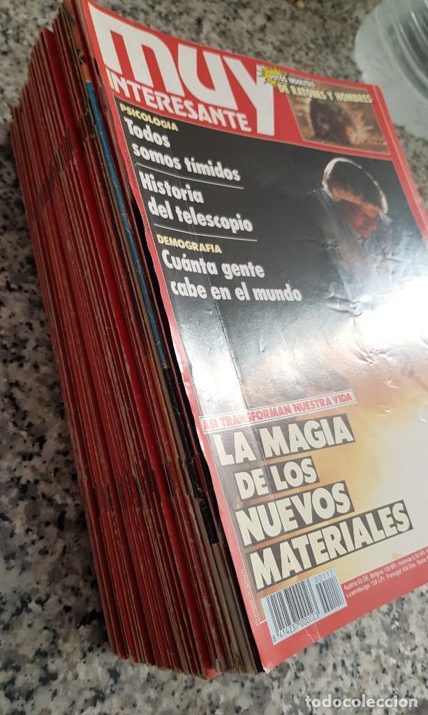 Coleccionismo de Revista Muy Interesante: LOTE 32 REVISTAS MUY INTERESANTE - ENTRE LOS NÚMEROS 1 Y 117 - Foto 4 - 219883832