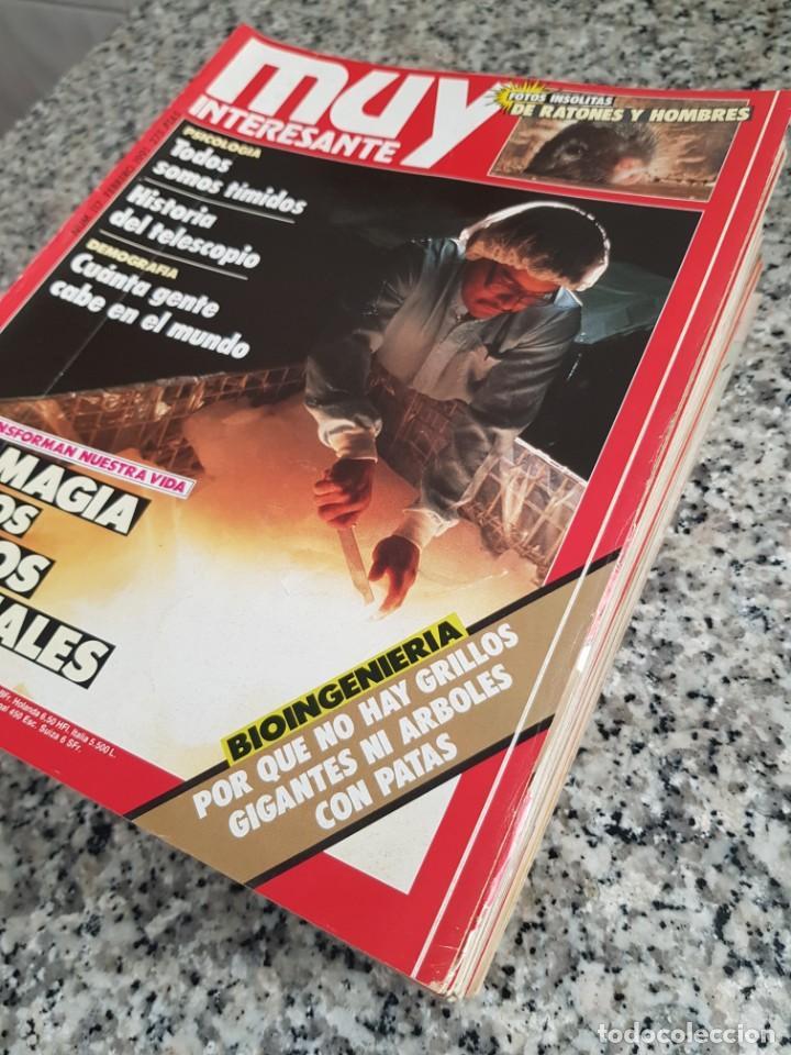 Coleccionismo de Revista Muy Interesante: LOTE 32 REVISTAS MUY INTERESANTE - ENTRE LOS NÚMEROS 1 Y 117 - Foto 5 - 219883832