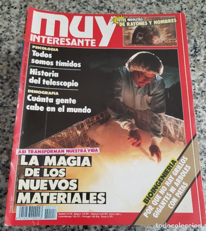 Coleccionismo de Revista Muy Interesante: LOTE 32 REVISTAS MUY INTERESANTE - ENTRE LOS NÚMEROS 1 Y 117 - Foto 6 - 219883832