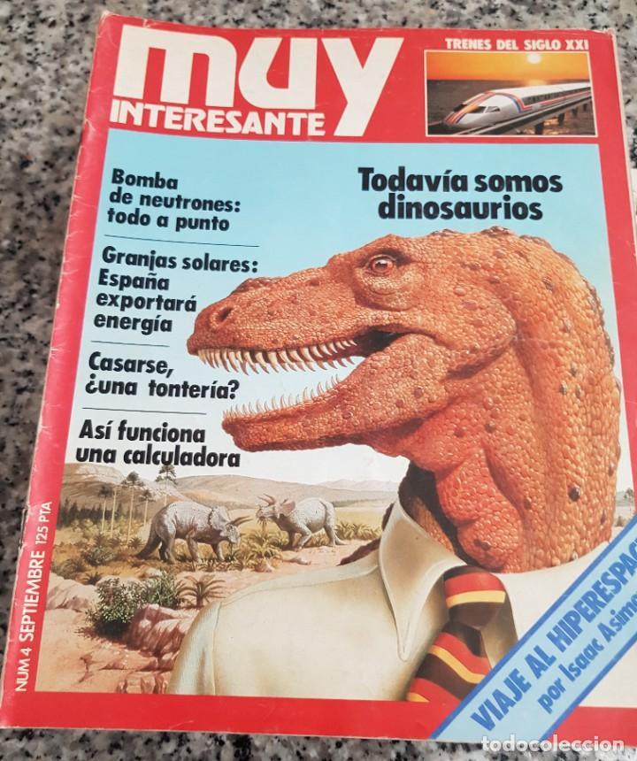 Coleccionismo de Revista Muy Interesante: LOTE 32 REVISTAS MUY INTERESANTE - ENTRE LOS NÚMEROS 1 Y 117 - Foto 7 - 219883832
