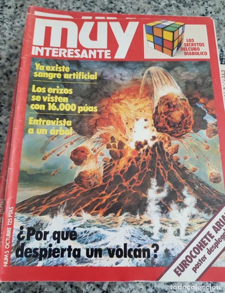 Coleccionismo de Revista Muy Interesante: LOTE 32 REVISTAS MUY INTERESANTE - ENTRE LOS NÚMEROS 1 Y 117 - Foto 8 - 219883832