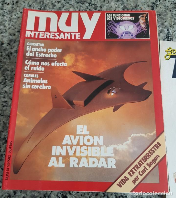 Coleccionismo de Revista Muy Interesante: LOTE 32 REVISTAS MUY INTERESANTE - ENTRE LOS NÚMEROS 1 Y 117 - Foto 10 - 219883832