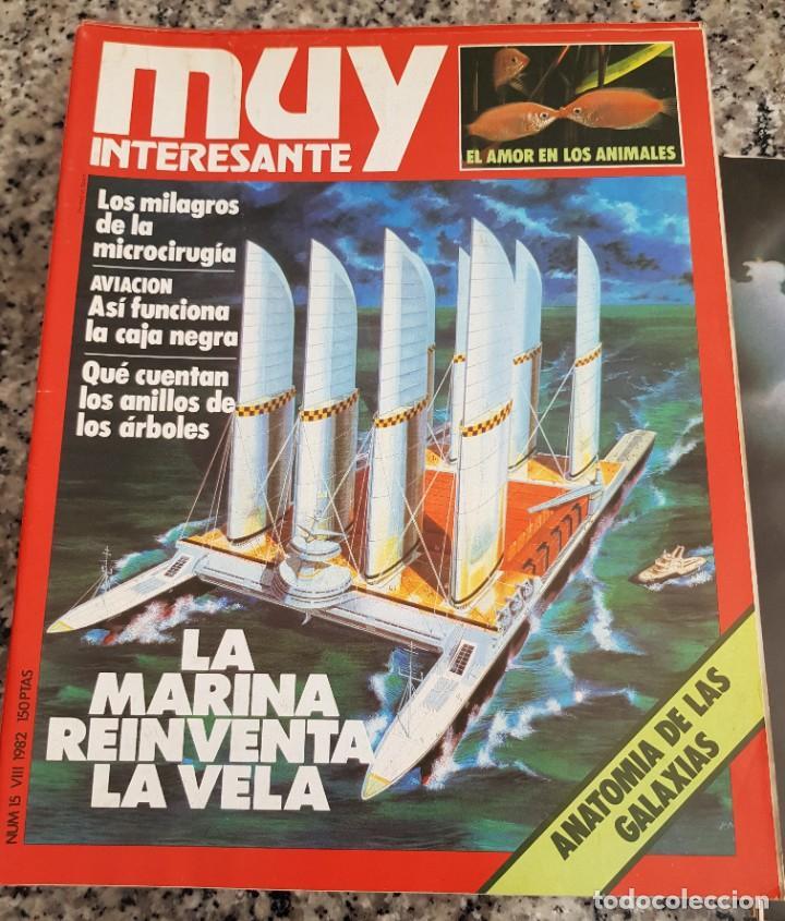 Coleccionismo de Revista Muy Interesante: LOTE 32 REVISTAS MUY INTERESANTE - ENTRE LOS NÚMEROS 1 Y 117 - Foto 11 - 219883832