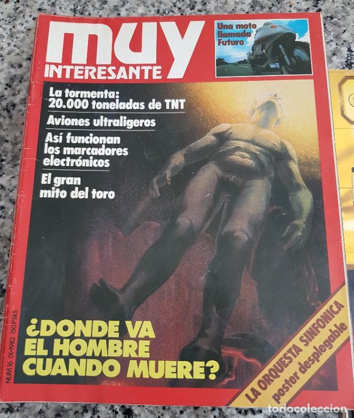 Coleccionismo de Revista Muy Interesante: LOTE 32 REVISTAS MUY INTERESANTE - ENTRE LOS NÚMEROS 1 Y 117 - Foto 12 - 219883832