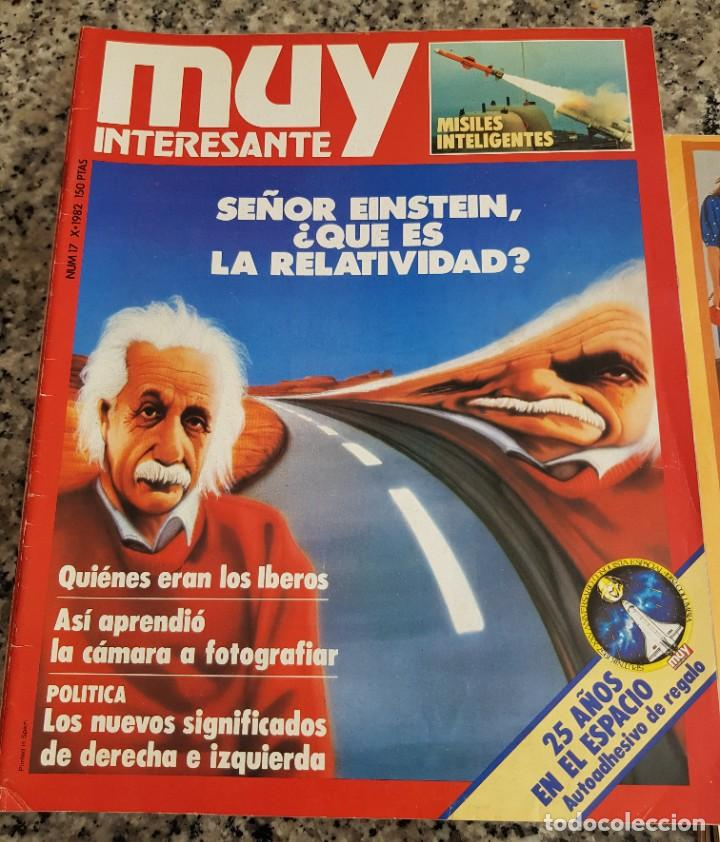 Coleccionismo de Revista Muy Interesante: LOTE 32 REVISTAS MUY INTERESANTE - ENTRE LOS NÚMEROS 1 Y 117 - Foto 13 - 219883832