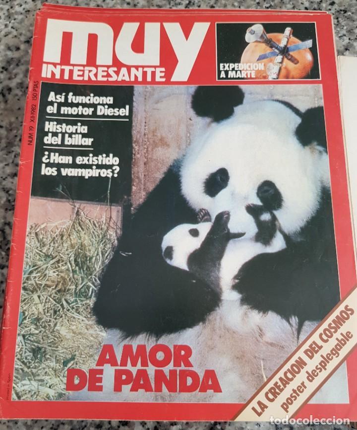 Coleccionismo de Revista Muy Interesante: LOTE 32 REVISTAS MUY INTERESANTE - ENTRE LOS NÚMEROS 1 Y 117 - Foto 14 - 219883832