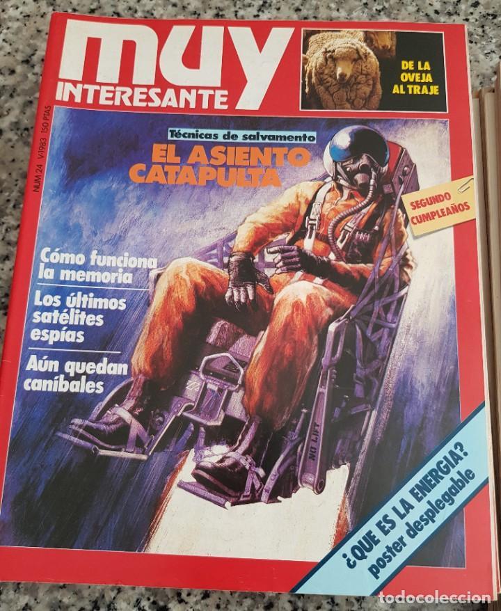 Coleccionismo de Revista Muy Interesante: LOTE 32 REVISTAS MUY INTERESANTE - ENTRE LOS NÚMEROS 1 Y 117 - Foto 15 - 219883832