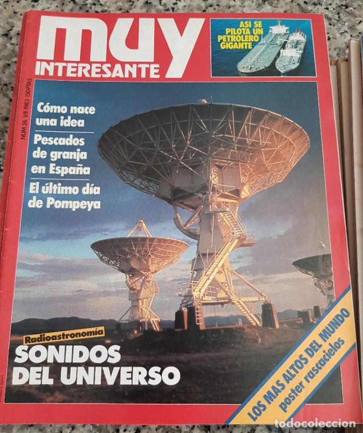 Coleccionismo de Revista Muy Interesante: LOTE 32 REVISTAS MUY INTERESANTE - ENTRE LOS NÚMEROS 1 Y 117 - Foto 16 - 219883832