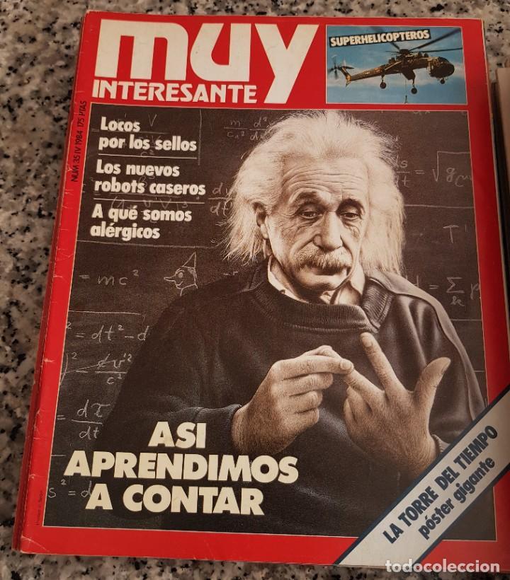 Coleccionismo de Revista Muy Interesante: LOTE 32 REVISTAS MUY INTERESANTE - ENTRE LOS NÚMEROS 1 Y 117 - Foto 17 - 219883832