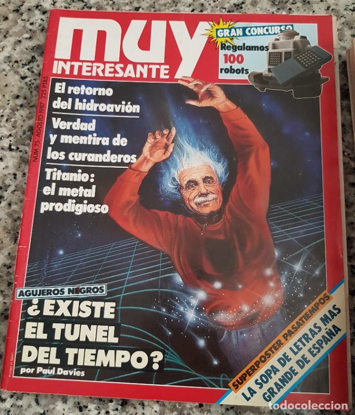 Coleccionismo de Revista Muy Interesante: LOTE 32 REVISTAS MUY INTERESANTE - ENTRE LOS NÚMEROS 1 Y 117 - Foto 18 - 219883832