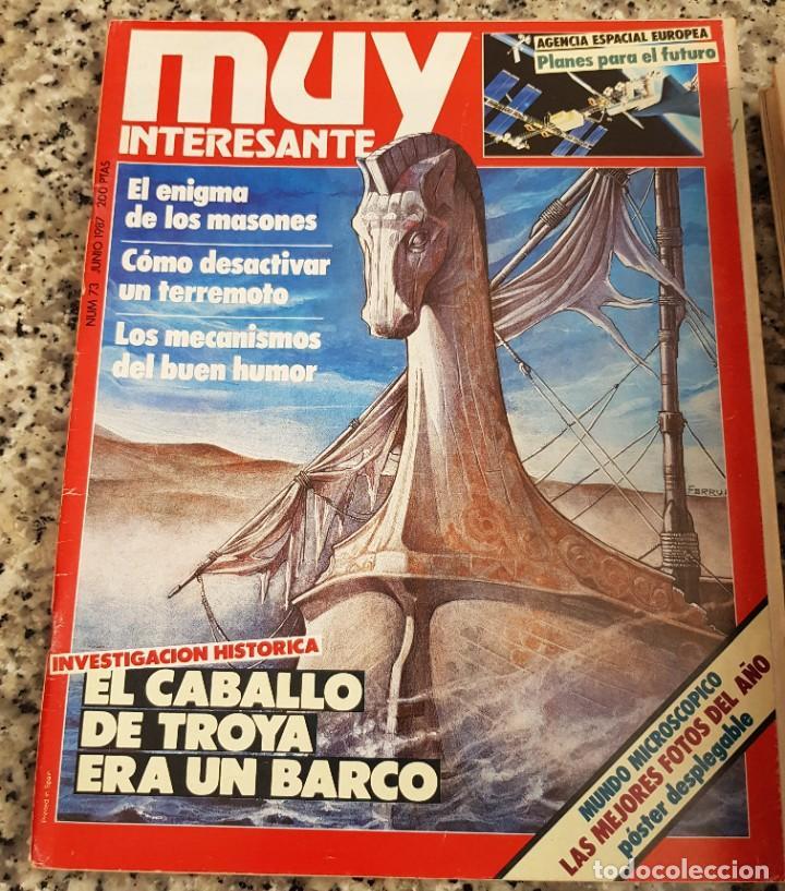 Coleccionismo de Revista Muy Interesante: LOTE 32 REVISTAS MUY INTERESANTE - ENTRE LOS NÚMEROS 1 Y 117 - Foto 19 - 219883832