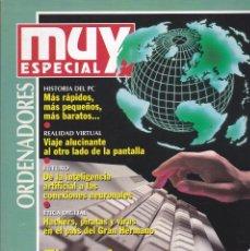 Coleccionismo de Revista Muy Interesante: ESPECIAL INVIERNO 1995 EL MUNDO EN UN TECLADO. Lote 221269578