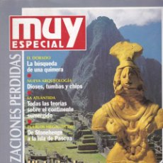 Coleccionismo de Revista Muy Interesante: ESPECIAL OTOÑO 1994 CIVILIZACIONES PERDIDAS. Lote 221269612