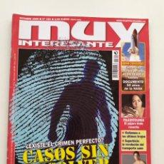 Coleccionismo de Revista Muy Interesante: REVISTA MUY INTERESANTE. NÚM 329. OCTUBRE 2008. Lote 221802426