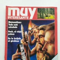 Coleccionismo de Revista Muy Interesante: REVISTA MUY INTERESANTE. NÚM 52. SEPTIEMBRE 1985. Lote 221805140