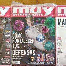 Coleccionismo de Revista Muy Interesante: 3 X 2 REVISTAS 'MUY INTERESANTE' * VERANO 2020, PRECINTADAS. Lote 210481107