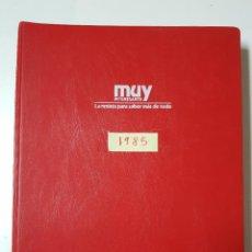 Coleccionismo de Revista Muy Interesante: REVISTAS MUY INTERESANTE. AÑO 1985. COMPLETO. CLASIFICADOR ROJO. Lote 222614352