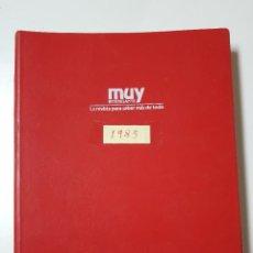 Coleccionismo de Revista Muy Interesante: REVISTAS MUY INTERESANTE. AÑO 1983. COMPLETO. CLASIFICADOR ROJO. Lote 222614543