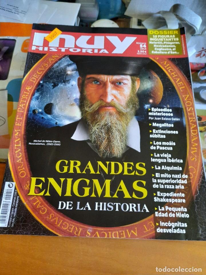 MUY HISTORIA N° 54 (Coleccionismo - Revistas y Periódicos Modernos (a partir de 1.940) - Revista Muy Interesante)