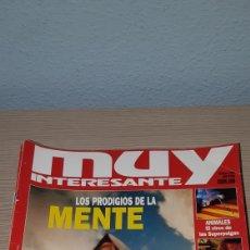 Coleccionismo de Revista Muy Interesante: MUY INTERESANTE AÑO 1998 COMPLETO. Lote 222931315