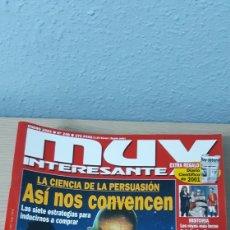 Coleccionismo de Revista Muy Interesante: MUY INTERESANTE AÑO 2002 COMPLETO. Lote 222933540