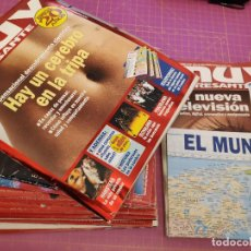 Coleccionismo de Revista Muy Interesante: 15 NÚMEROS DE LA REVISTA MUY INTERESANTE. Lote 224828267