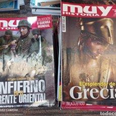 Collectionnisme de Magazine Muy Interesante: GRAN LOTE DE REVISTAS MUY HISTORIA 66 EJEMPLARES. Lote 225758520