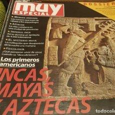 Coleccionismo de Revista Muy Interesante: MUY ESPECIAL LOS PRIMEROS AMERICANOS INCAS MAYAS Y AZTECAS REVISTA 54 DE 2001. Lote 228290360