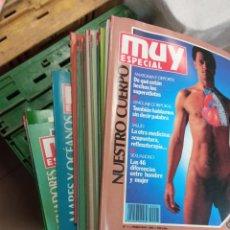 Coleccionismo de Revista Muy Interesante: LOTE 47 REVISTAS MUY INTERESANTE MUY ESPECIAL 1 AL 47 Y 51. Lote 232917346