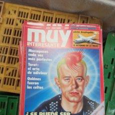 Coleccionismo de Revista Muy Interesante: LOTE MUY INTERESANTE 10 AL 59. Lote 232981110