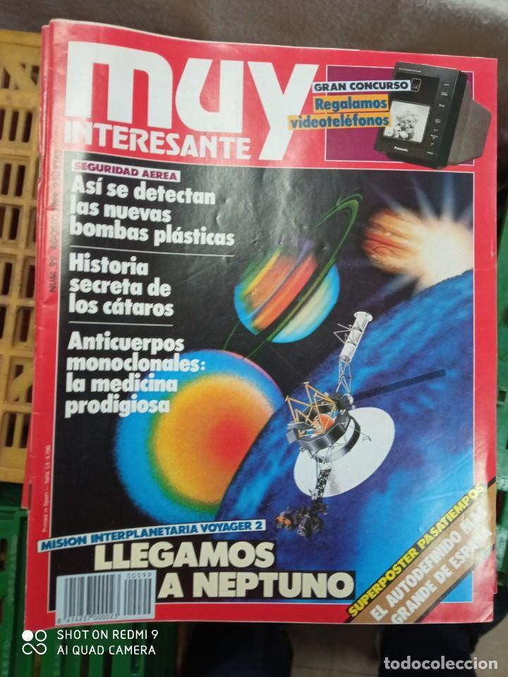 LOTE MUY INTERESANTE 60 AL 99 (Coleccionismo - Revistas y Periódicos Modernos (a partir de 1.940) - Revista Muy Interesante)