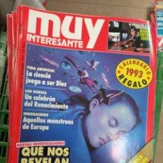 Coleccionismo de Revista Muy Interesante: LOTE MUY INTERESANTE 100 AL 139. Lote 232982150