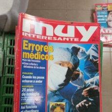 Coleccionismo de Revista Muy Interesante: LOTE MUY INTERESANTE 140 AL 179. Lote 232982725