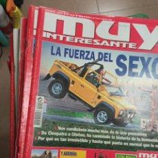 Coleccionismo de Revista Muy Interesante: LOTE MUY INTERESANTE 180 AL 219. Lote 232983545