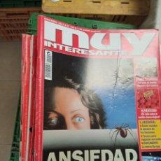 Coleccionismo de Revista Muy Interesante: LOTE MUY INTERESANTE 220 AL 258 Y 260, 264 Y 277. Lote 232984320
