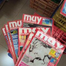 Coleccionismo de Revista Muy Interesante: LOTE 9 MUY INTERESANTE 231' 216' 201'135'44'46'106. Lote 232985190