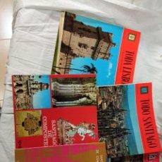 Coleccionismo de Revista Muy Interesante: LOTE GUIAS SANTIAGO LA ALPUJARRA LISBOA OVIEDO AVILA SANTANDER. Lote 233347565