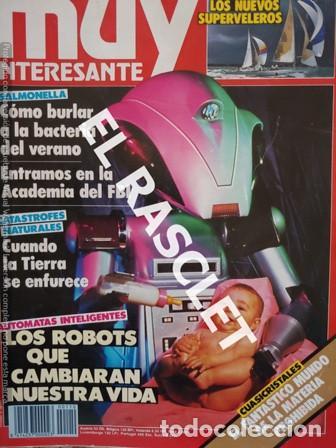 ANTIGUA REVISTA MUY INTERESANTE Nº 110 - JULIO 1990 - (Coleccionismo - Revistas y Periódicos Modernos (a partir de 1.940) - Revista Muy Interesante)