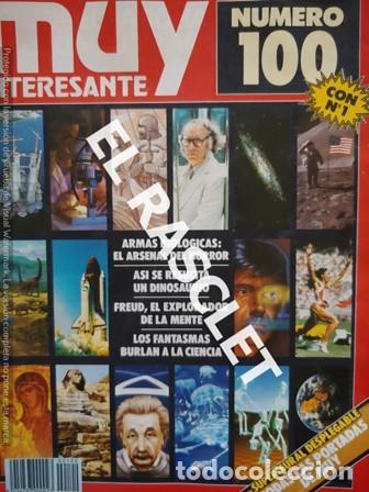 ANTIGUA REVISTA MUY INTERESANTE Nº 100 SEPTIEMBRE 1989 - (Coleccionismo - Revistas y Periódicos Modernos (a partir de 1.940) - Revista Muy Interesante)