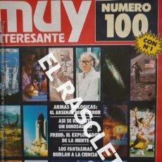 Coleccionismo de Revista Muy Interesante: ANTIGUA REVISTA MUY INTERESANTE Nº 100 SEPTIEMBRE 1989 -. Lote 234058740