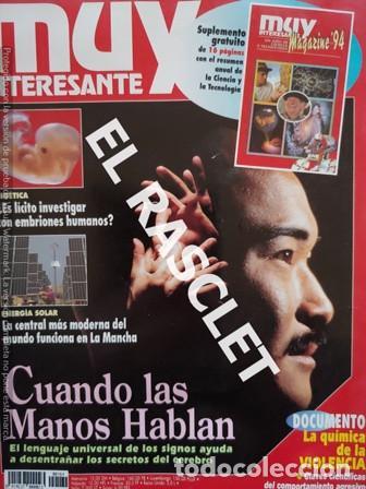ANTIGUA REVISTA MUY INTERESANTE Nº 164 ENERO 1995 - (Coleccionismo - Revistas y Periódicos Modernos (a partir de 1.940) - Revista Muy Interesante)