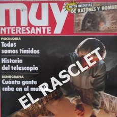 Coleccionismo de Revista Muy Interesante: ANTIGUA REVISTA MUY INTERESANTE Nº 157 JUNIO 1994 -. Lote 234059395