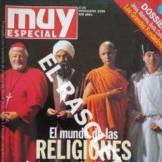 Coleccionismo de Revista Muy Interesante: ANTIGUA REVISTA MUY ESPECIAL - Nº 25 - PRIMAVERA 1996. Lote 238035875