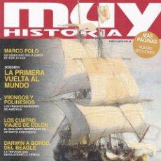 Coleccionismo de Revista Muy Interesante: REVISTAS MUY HISTORIA: AVENTUREROS DE LO IMPOSUBLE Nº97. Lote 238740870