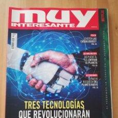 Coleccionismo de Revista Muy Interesante: REVISTA MUY INTERESANTE Nº 476 (TRES TECNOLOGÍAS QUE REVOLUCIONARÁN LA HUMANIDAD). Lote 238751035
