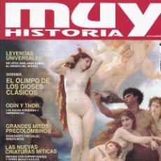 Coleccionismo de Revista Muy Interesante: REVISTAS MUY HISTORIA: DIOSES Y MITOS DE TODAS LAS CULTURAS Nº 102. Lote 238757235