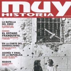 Coleccionismo de Revista Muy Interesante: REVISTA MUY HISTORIA: ESPAÑA 1938, 80 AÑOS DEL FIN DE UNA GUERRA CRUEL Nº 110. Lote 239665630