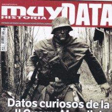 Coleccionismo de Revista Muy Interesante: REVISTA MUY HISTORIA DATA: DATOS CURIOSOS DE LA II GUERRA MUNDIAL Nº 3. Lote 239668445