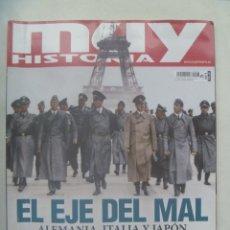 Collectionnisme de Magazine Muy Interesante: REVISTA MUY HISTORIA , Nº 103: EL EJE DEL MAL, EL SUEÑO DE HITLER, ITALIA FASCISTA, ETC. Lote 239904410